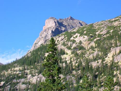 Arrowhead from Glacier Gorge.