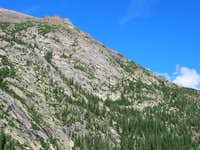 Thatchtop from Glacier Gorge.