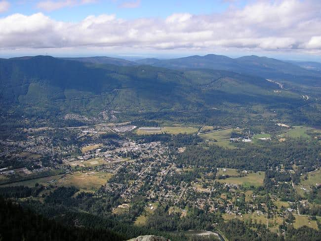 Snoqualmie Valley from the...