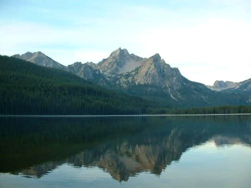 McGown Peak in the early...