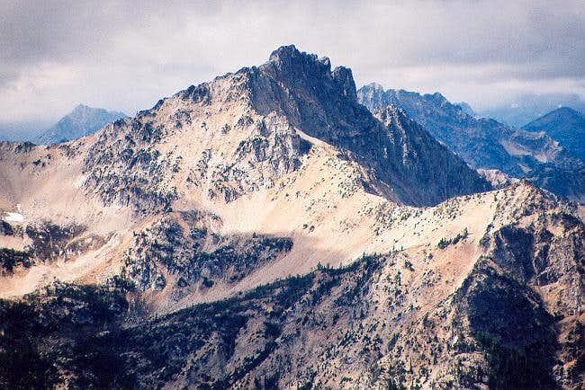 Devore Peak from the...