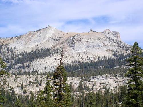 A view of Mt. Hoffman from...