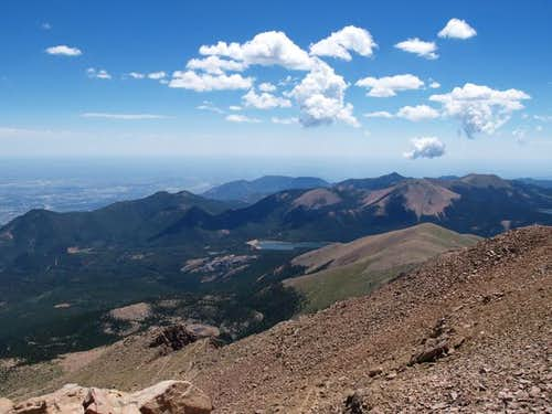 This shot from Pikes Peak...