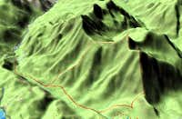 3D Topo profile of the route...