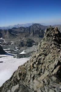 Brad on top of Apex Peak seen...