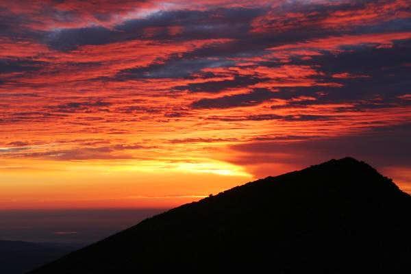 Sunrise over Mount Lady...