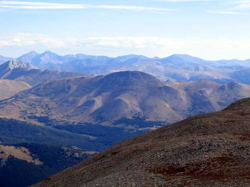 Boreas Mountain from the...