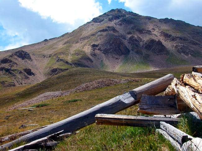 Casco Peak shot among the...
