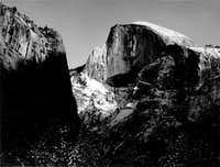 Half Dome, Winter