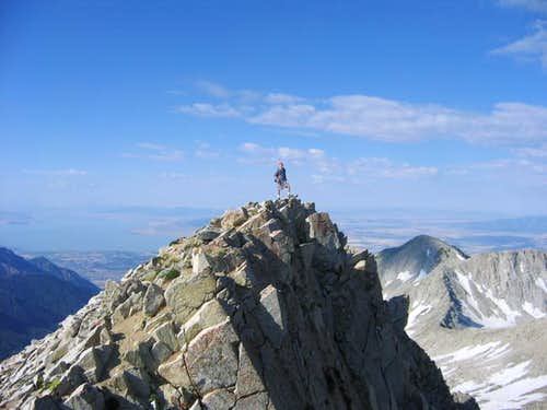 Pfeifferhorn Summit, July 25...