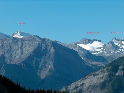Mount Cordonnier from the...