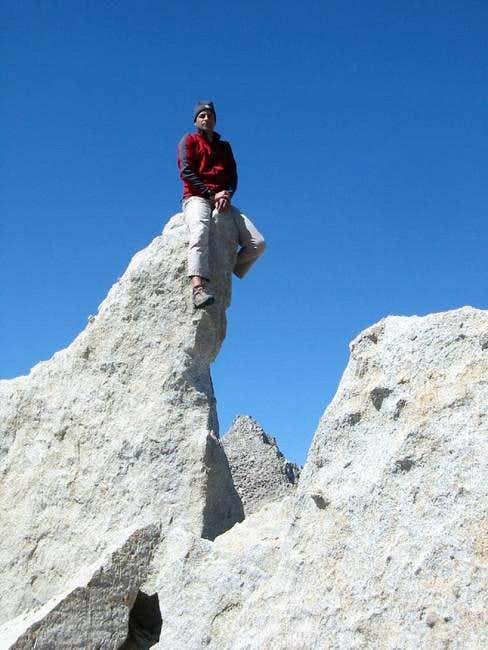 Riding the 'granite pony'...