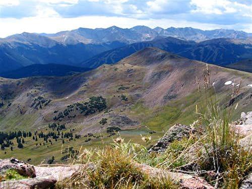 September 3, 2005 The peaks...