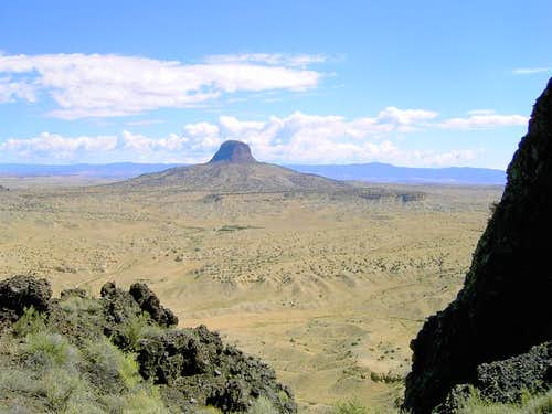 A view of Cabezon Peak from...