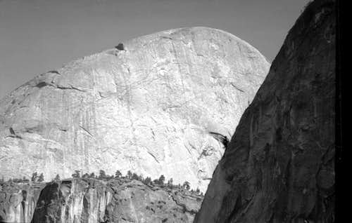 Approaching Half Dome. 1970.