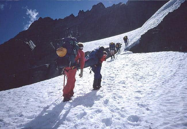 Approaching Cache Glacier