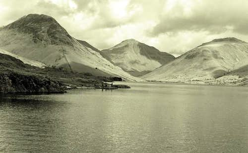 Wast Water, looking towards...