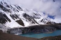 The west shore of Tilicho,...
