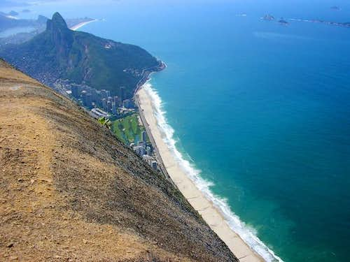 Pedra da Gavea south summit....