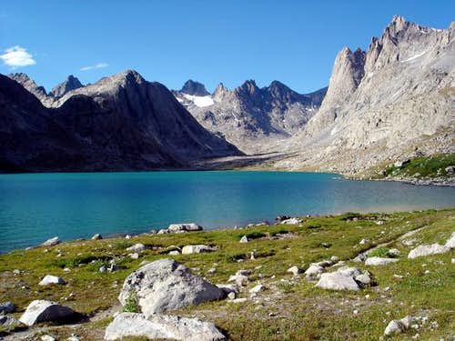Upper Titcomb Basin from near...