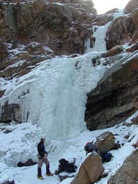 Clear Creek Canyon Ice Climbs (Colorado)