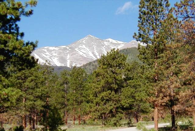 Mount Antero from the east...