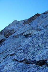 First pitch of North Arete on...