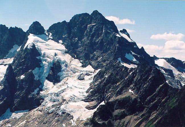 Close up of Mt. Formidable's...