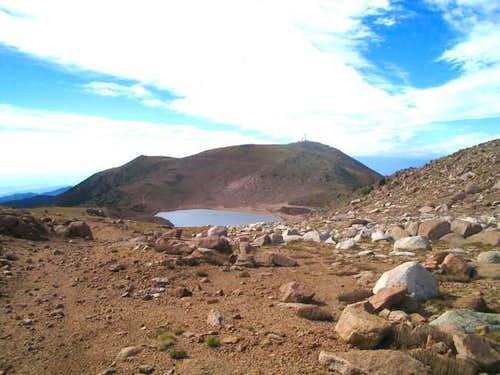 Stratton reservoir from near...