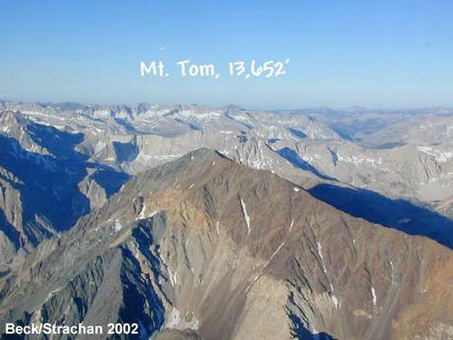 Mount Tom, as viewed from...