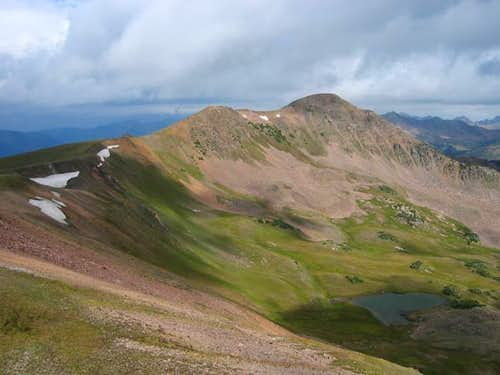 Beautiful Uneva Peak on a...