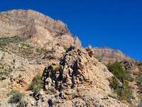 Base of La Madre Mountain,...