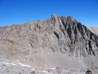 A close up of Mt. Robinson...
