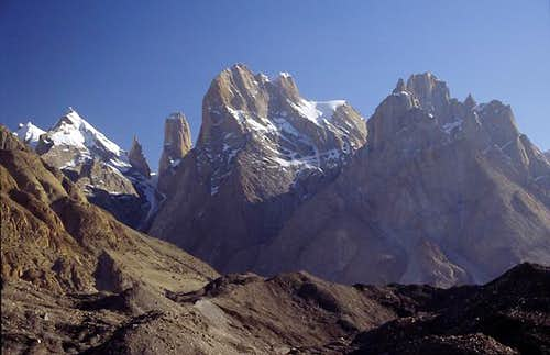 The Trango group seen from...