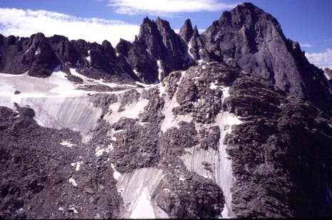 Ellingwood Peak and the...