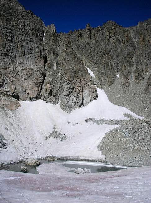 Shoshoni's rugged ridge as...