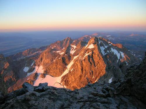 Middle Teton at sunrise...