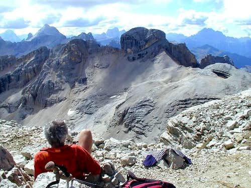 On the summit of La Varella....