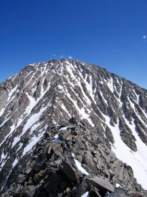 The southwest ridge of Morgan...