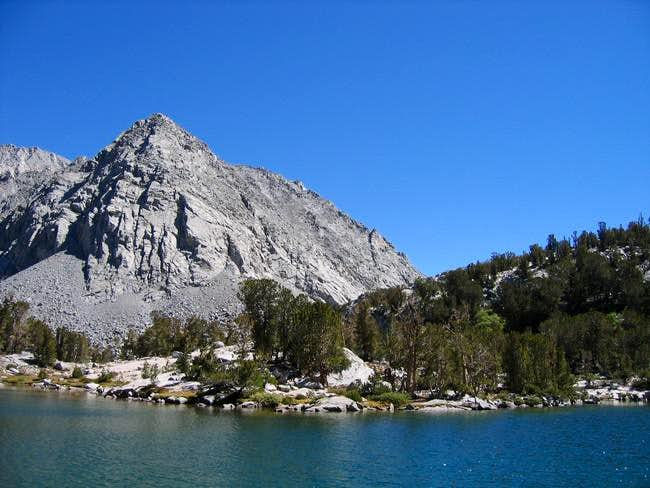 Little Lakes Peak and its...