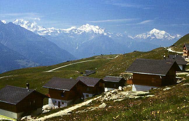 Kuehboden (Fiescheralp), 2212m.