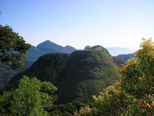 Tijuca Forest Mountains
