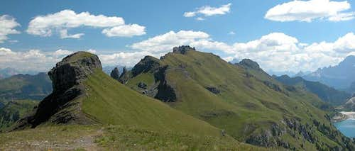 Summit view Col da Cuch: The...
