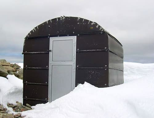 Sberna bivouac (3404 m), at...