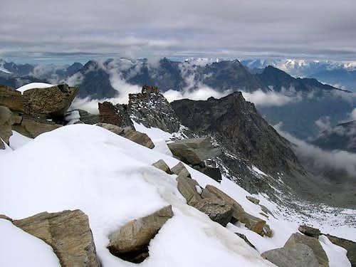 View from Sberna bivouac...