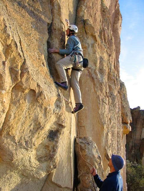 Leading Sundown - a fun 5.9...