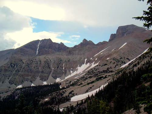 Jeff Davis Peak is on the...