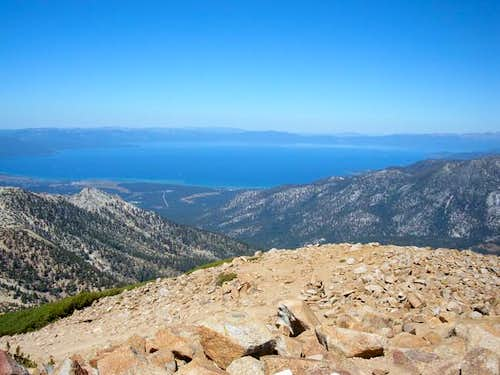 Great view of Lake Tahoe from...