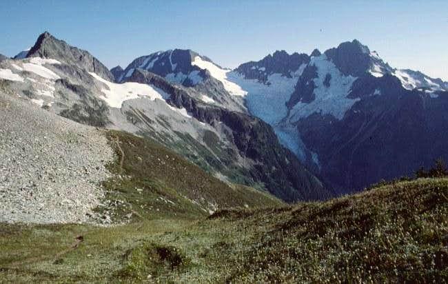 S from Cache Col toward Kool-Aid Lake
