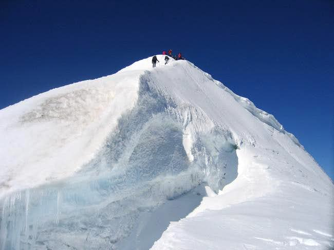 The summit of Bishorn